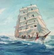 Sailing Eagle Poster