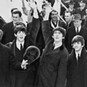 Early Beatles Publicity Photo Poster