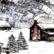 Early Snowfall Poster