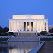 Early Washington Mornings - The Lincoln Memorial Poster