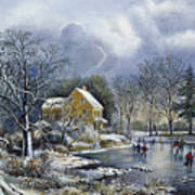 Early Winter, 1869 Poster