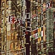 East 23rd And Broadway Poster by Teodoro De La Santa
