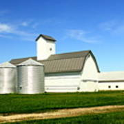 East Central Illinois Farm Buildings By Earl's Photography Poster