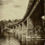 East Falls Rail Road Bridge Poster