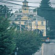 East Greenwich Rhode Island Waterfront Scenes Poster