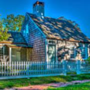 East Hampton Antique Cottage Poster