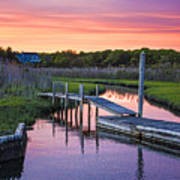 East Moriches Sunset Poster