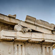 East Pediment - Parthenon Poster