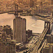 East River View Poster