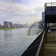 East River View Looking South Poster