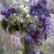 Easter Lilacs Poster