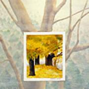 Eastern Autumn Poster