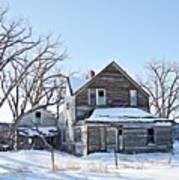Eastern Montana Farmhouse Poster