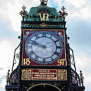 Eastgate Clock In Chester Poster