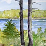 Eastport Maine Coastal Afternoon Poster