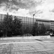 eastside millennium point building Birmingham UK Poster