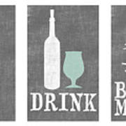 Eat Drink Be Merry Poster
