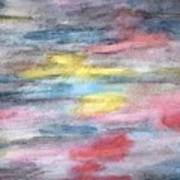 Ebony Rainbow Poster by Mary Zimmerman