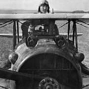 Eddie Rickenbacker - World War One - 1918 Poster