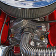 Edelbrock Hot Rod Engine Poster