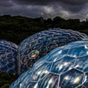 Eden Project Cornwall Poster