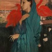 Edgar Degas - Young Woman With Ibis - 1860-1862 Poster