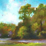 Edge Of The Marsh Poster