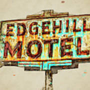 Edgehill Sketched Poster