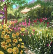 Edie's Garden Poster