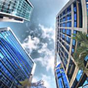 Edificios De Caracas Poster