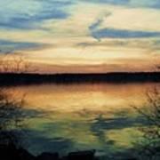 Edinboro Lake Nocturne No.3 Poster