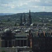 Edinburgh Castle View #9 Poster