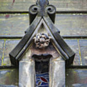Edinburgh Cathedral Window Poster