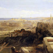 Edinburgh From The Castle Poster