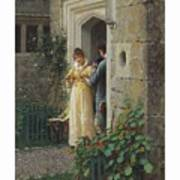 Edmund Blair Leighton 1852-1922 The Request Poster