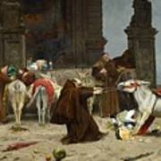 Eduardo Zamacois Y Zabala , Returning To The Monastery 1868 Poster