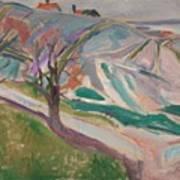Edvard Munch , Landscape, Kragero Poster