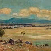 Edward Cairns Officer 1871-1921 Landscape Poster