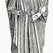 Effigy Of King John On His Tomb In Poster