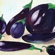Eggplants Poster