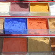 Egypt Natural Earth Pigments Egypt Poster