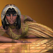 Egyptian Priestess Poster