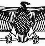 Egyptian Symbol: Vulture Poster