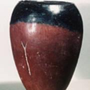 Egyptian Vase, C4000 B.c Poster