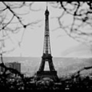 Eiffel Eyeful Poster