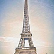 Eiffel Tower 13 Art Poster