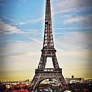 Eiffel Tower 2 Poster