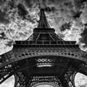 Eiffel Tower Poster by Allen Parseghian