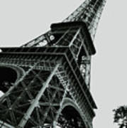 Eiffel Tower Slightly Askew Poster
