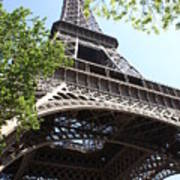 Eiffel Tower Spring Poster
